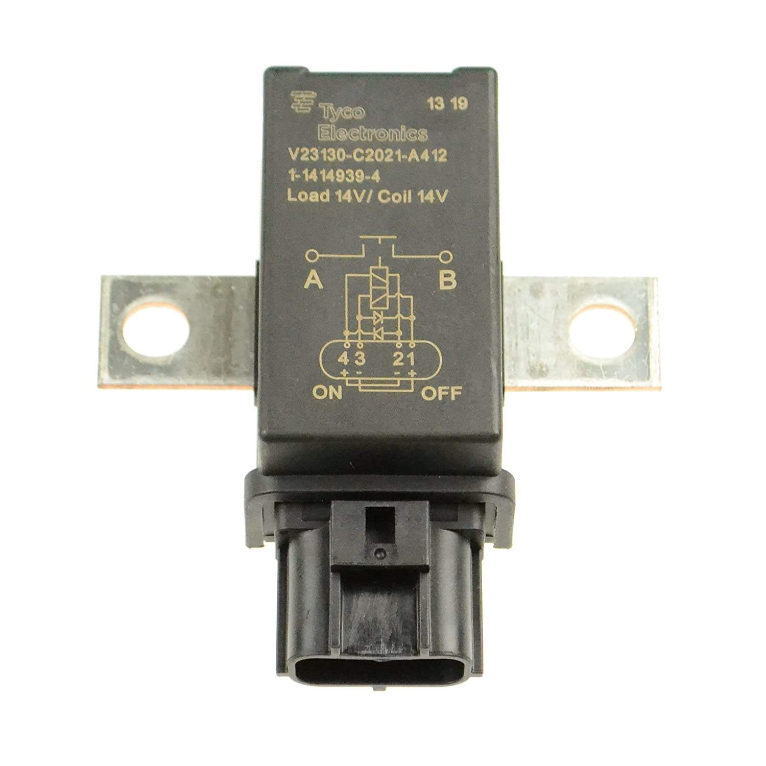 Amazon.com: Tyco 1-1414939-4 Battery Disconnect Relay ...