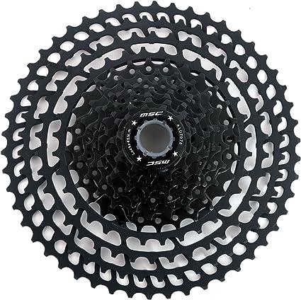 12V 11-50 Negro MSC Bikes CSMSC121150L Cassette