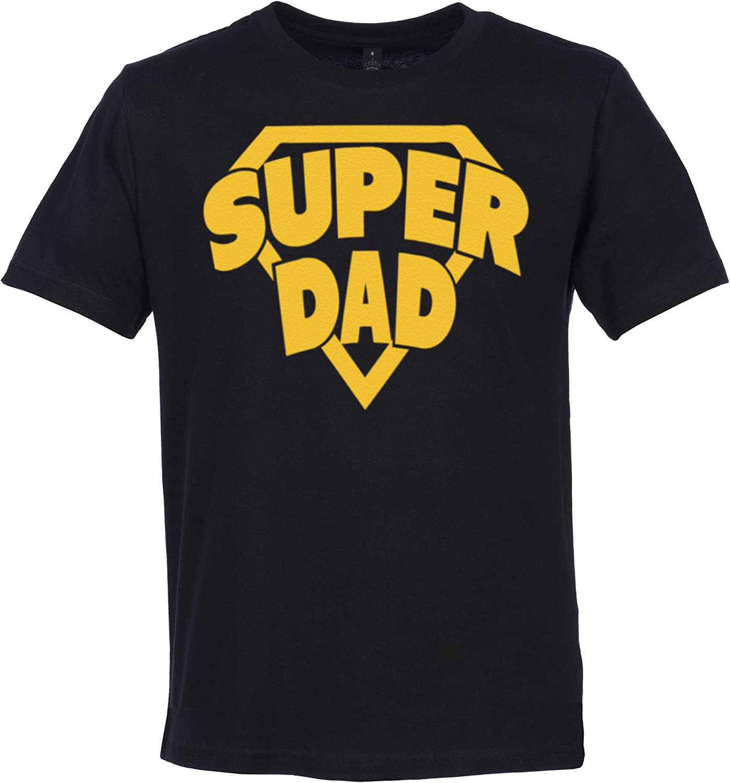 dans Une bo/îte Cadeau Spoilt Rotten SR Superdad Superboy T-Shirts 100/% Coton Bio Dad Son dans Une bo/îte Cadeau