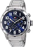 Tommy Hilfiger Men's 1791053 Stainless Steel Watch with Link Bracelet