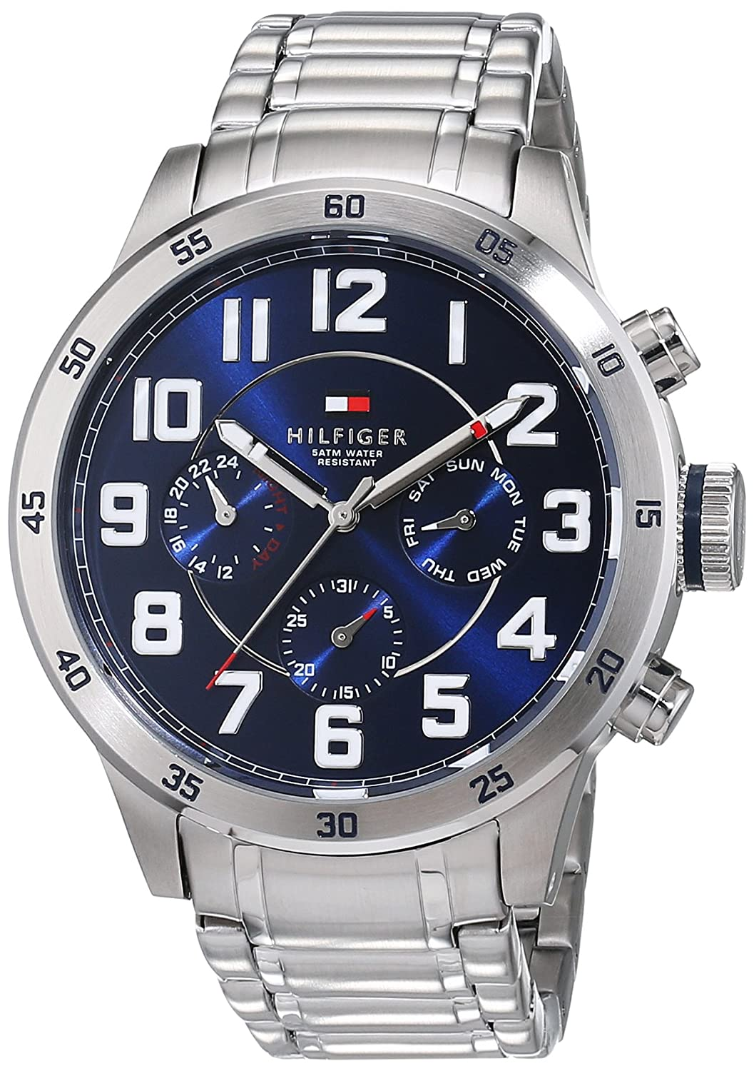 Amazon: Tommy Hilfiger Men's 1791053 Stainless Steel Watch With Link  Bracelet: Tommy Hilfiger: Watches
