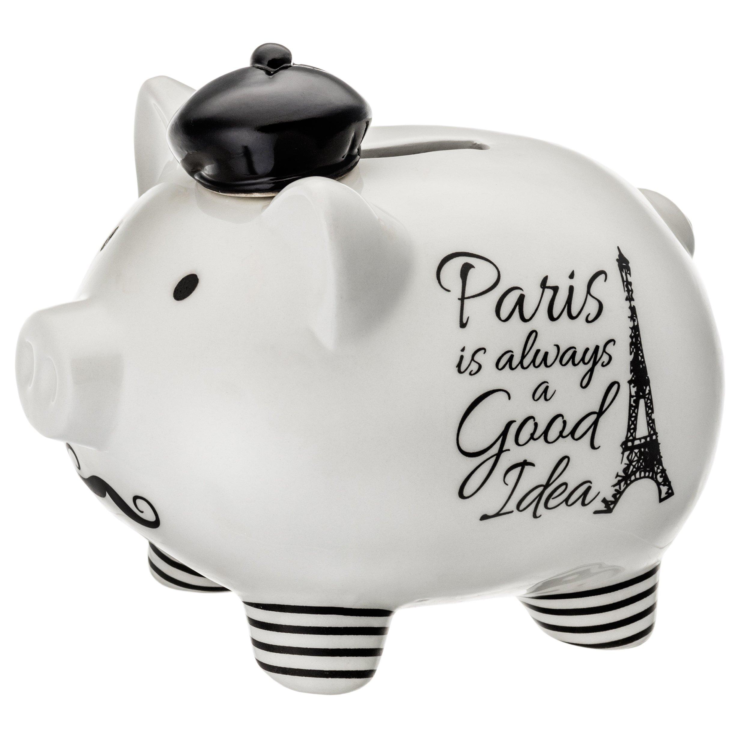 PRINZ 6635-6002 Paris Piggy Bank