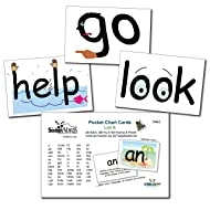 SnapWords List A Pocket Chart Cards - Sight Words