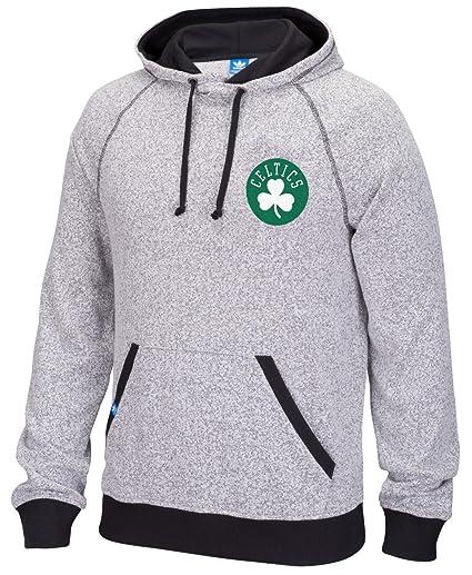 de847c6f2c380 adidas Boston Celtics NBA Originals Sudadera para Hombre Sudadera con  Capucha