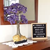 Double-Sided Felt Letter Board 10x10 inches with