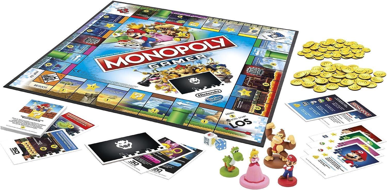 Hasbro Monopoly Gamer Niños y Adultos Party Board Game - Juego de Tablero (Party Board Game, Niños y Adultos, Niño/niña, 8 año(s)): Amazon.es: Juguetes y juegos