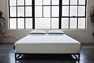 product image for LuxiOne Foam Mattress, MED/Soft Feel, Pressure Relief Technology, 3 Layers - Cool Air Flow Column Grid, Cal King