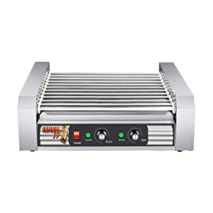 Superior Popcorn Company 82-P888 Superior Popcorn Commercial 30 Hot Dog 11 Roller Grilling Machine