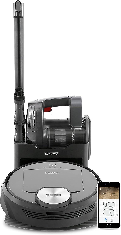 ECOVAS ROBOTICS DEEBOT R98 - Sistema de limpieza 2 en 1 inalámbrico con autovaciado, tecnología SMART NAVI y control por Smartphone APP: Amazon.es: Hogar