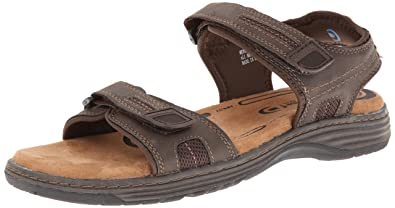Nunn Bush Men's Regan Gladiator Sandal, Brown Chamois, ...