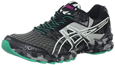 ASICS Women's GEL-Noosa Tri 8 Running Shoe,Storm/Lightning/Mint,