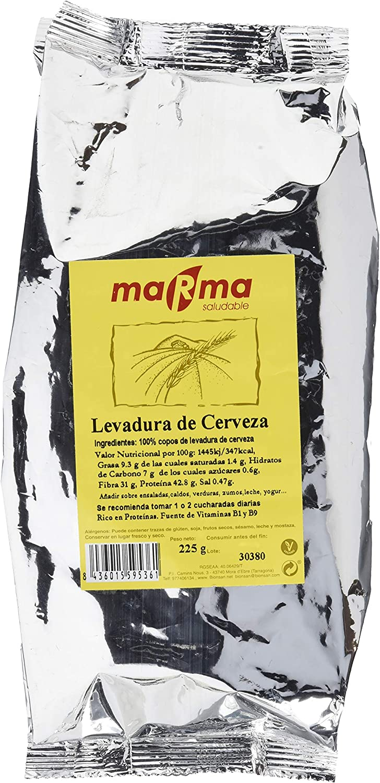 Bionsan Marma Levadura de Cerveza En Copos - 4 Bolsas de 225 Gr - Total: 900 Gr