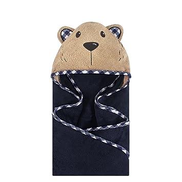 2ce5dbf669ec Amazon.com   Hudson Baby Unisex Baby Animal Face Hooded Towel