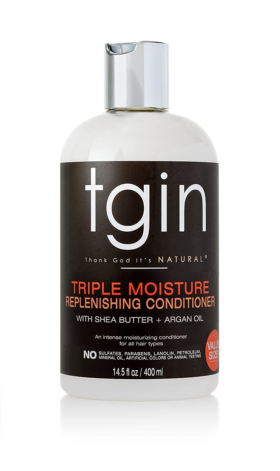 tgin Triple Moisture Replenishing Conditioner For Natural Hair - Dry Hair - Curly Hair - 13 Oz