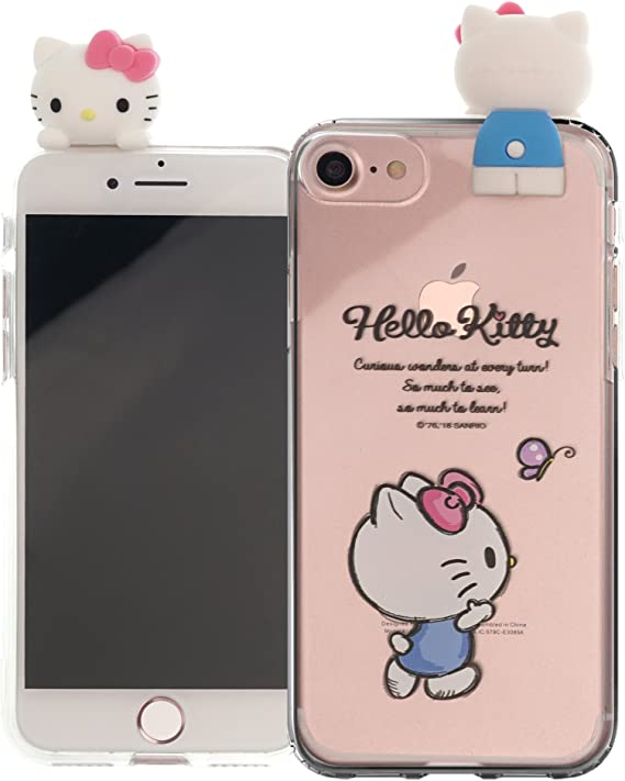 pink /& fluffy Hello Kitty Mobile Phone Case Cover