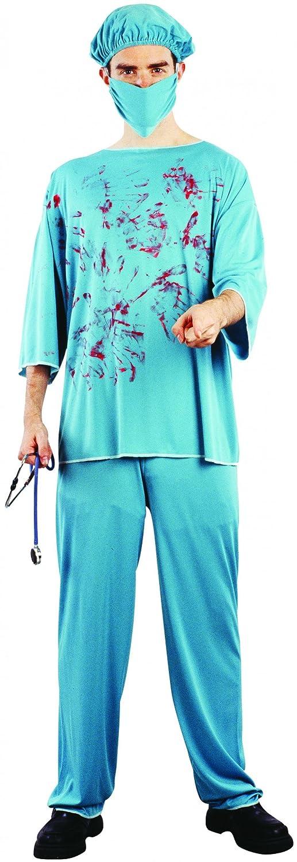 Disfraz cirujano sangriento adulto - Única: Amazon.es: Juguetes y ...