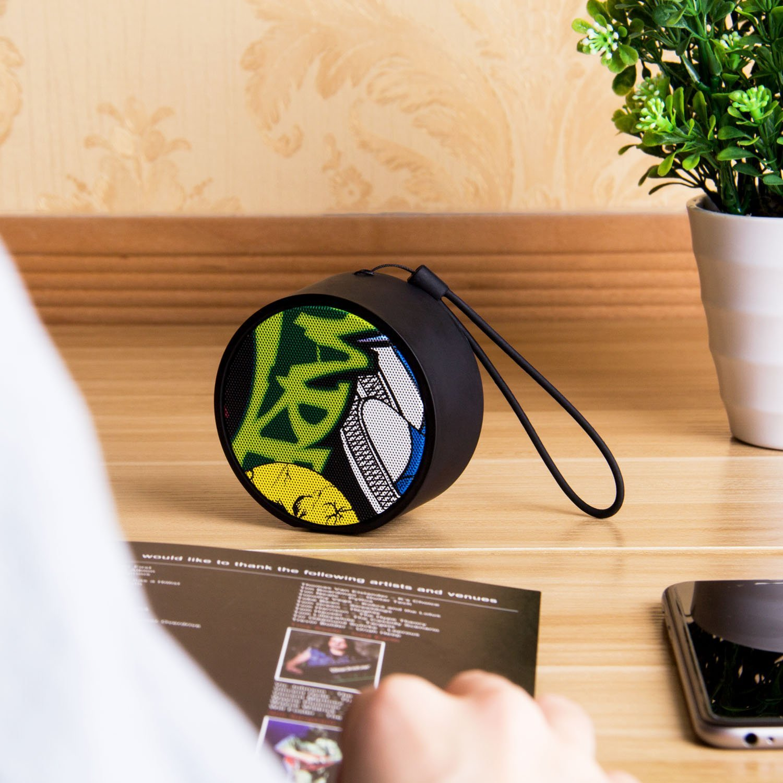 Amazon.com: Miric Mini Altavoz Portátil Bluetooth con ...