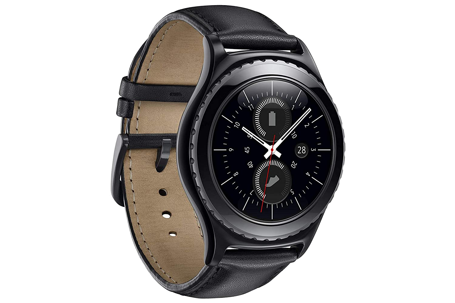 Samsung Gear S2 Classic - Smartwatch (pantalla 1.2in, 4 GB ...