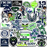 Stickers Pack Seattle Vinyl Seahawks Stickers Pack of 35 pcs