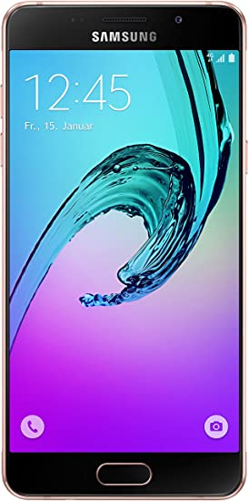 Samsung Galaxy A5 (2016) Smartphone (5,2 Zoll (13,22 cm) Touch-Display, 16 GB Speicher, Android 5.1) pink-gold