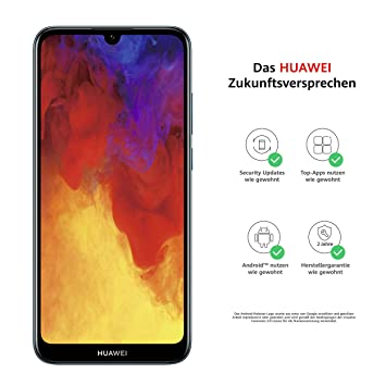 Huawei Y6 2019 15 5 cm 2 GB 32 GB Dual SIM 4G Blue: Amazon co uk