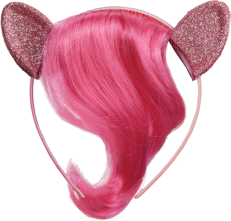 Hasbro My Little Pony Movie Rainbow Dash Child Headband Ears With Hair