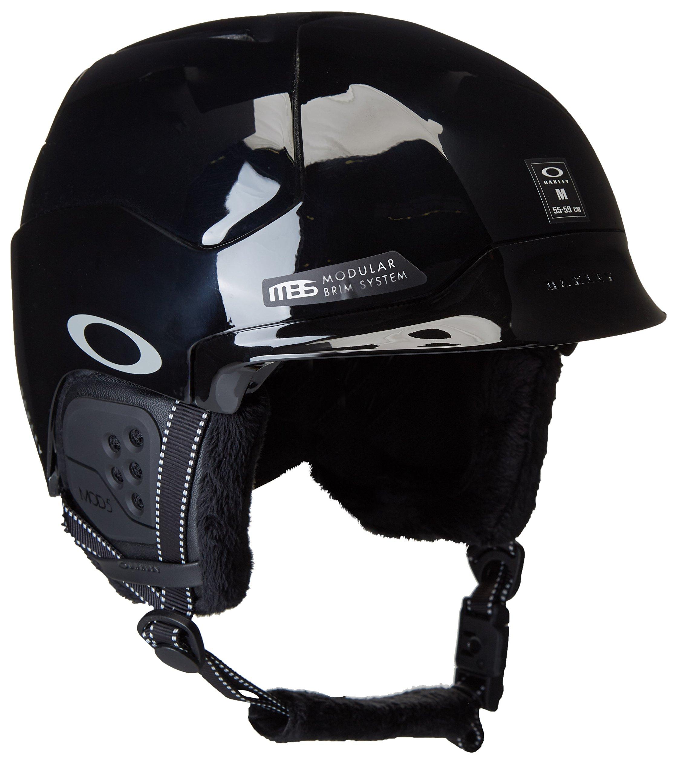 Oakley Mod5 Snow Helmet, Polished Black, Medium