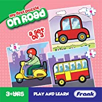 Frank  On Road Puzzle For 3 Year Old Kids And Above