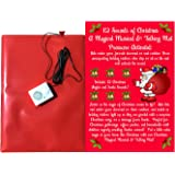 Magical Christmas Doormat -12 Sounds of Christmas With 6 Awesome Santa Sounds and 6 Famous Christmas Jingles-Hide This DoorMat For Holiday Fun