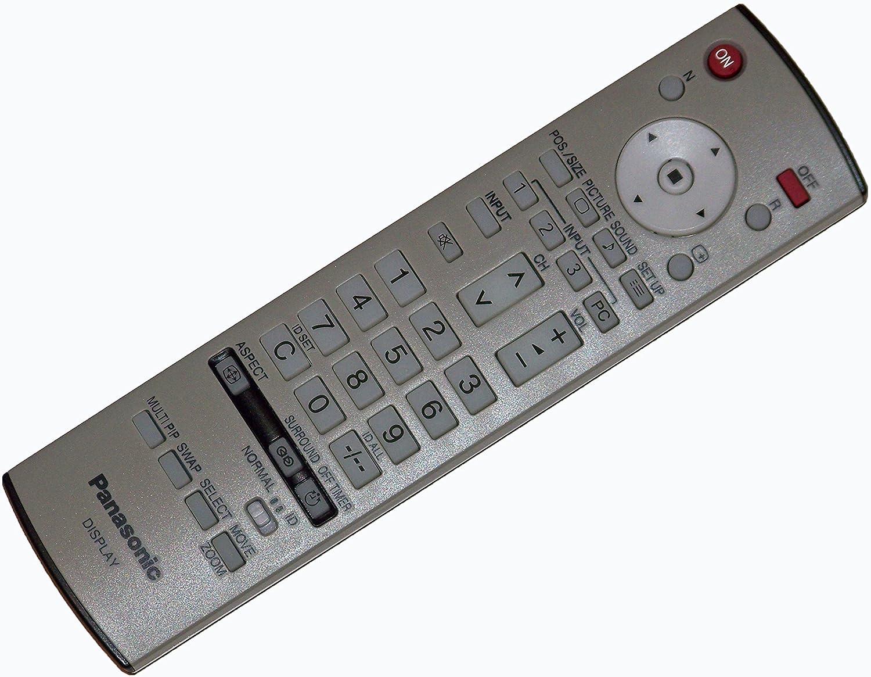 TH-50PF10UK OEM Panasonic Remote Control: TH50PF10 TH-50PF9 TH50PF11UK TH50PF9 TH50PF10UK TH-50PF10 TH-50PF11UK