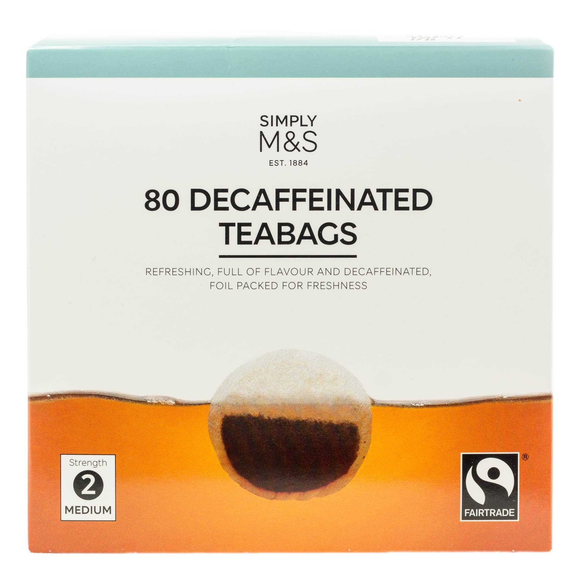Amazon.com : Marks and Spencer M&S | 80 Decaffeinated Teabags ...