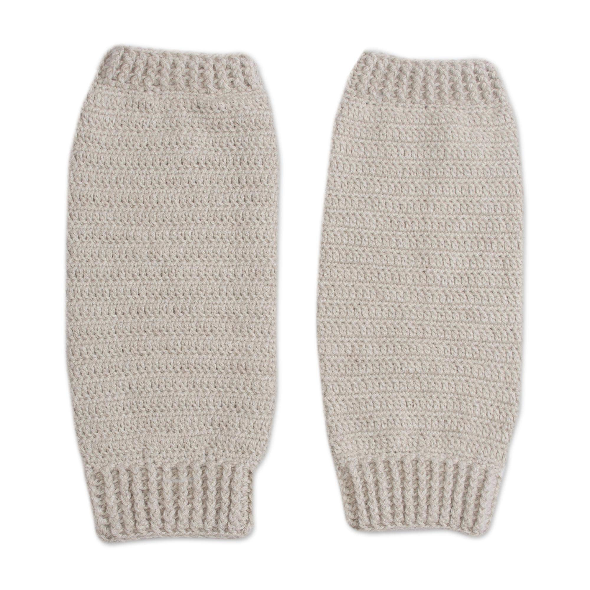 NOVICA Ivory Alpaca Blend Leg Warmers, Cozy Ivory' by NOVICA