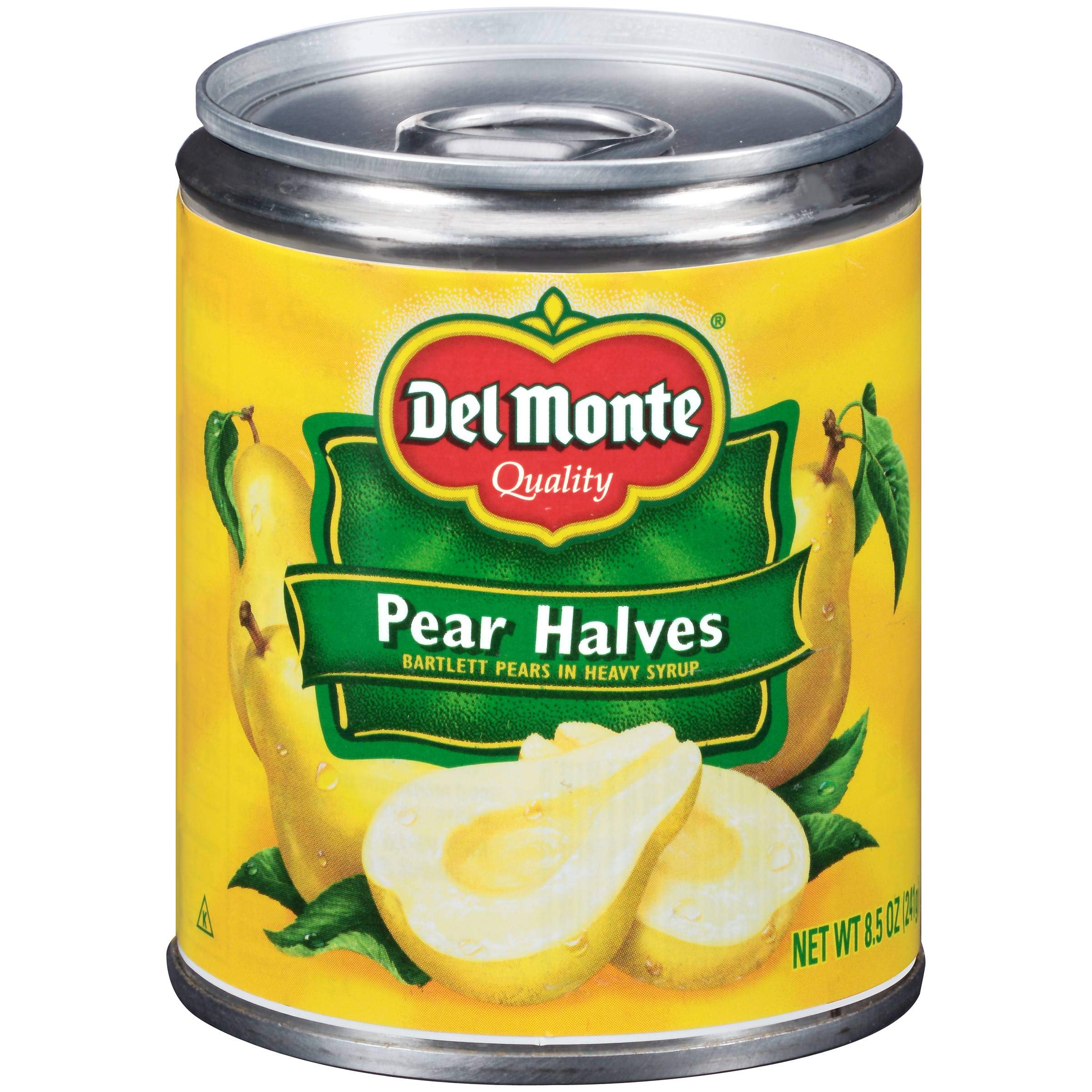 Del Monte Pear Halves, 8.5-Ounce Packages (Pack of 12) by Del Monte