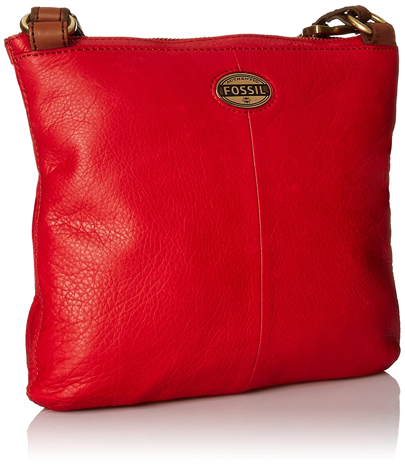 Fossil Explorer Crossbody Real Red One Size Handbags Amazoncom Dawson Satchel Espresso