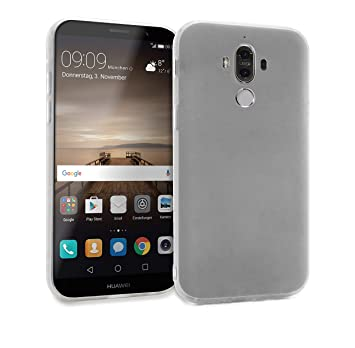 MyGadget Funda Slim para Huawei Mate 9 en Silicona TPU - Anti Rasguños - Carcasa Protectora Ultra Delgada [ 1,2mm ] cómoda - Transparente