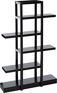 Monarch Specialties I 2541 Bookcase Open Concept Display Etagere Cappuccino 71
