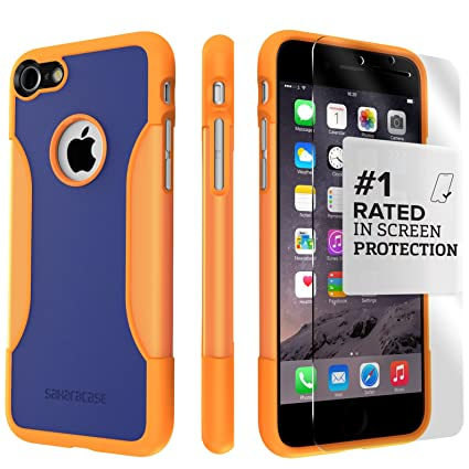 iphone 7 shockproof case orange
