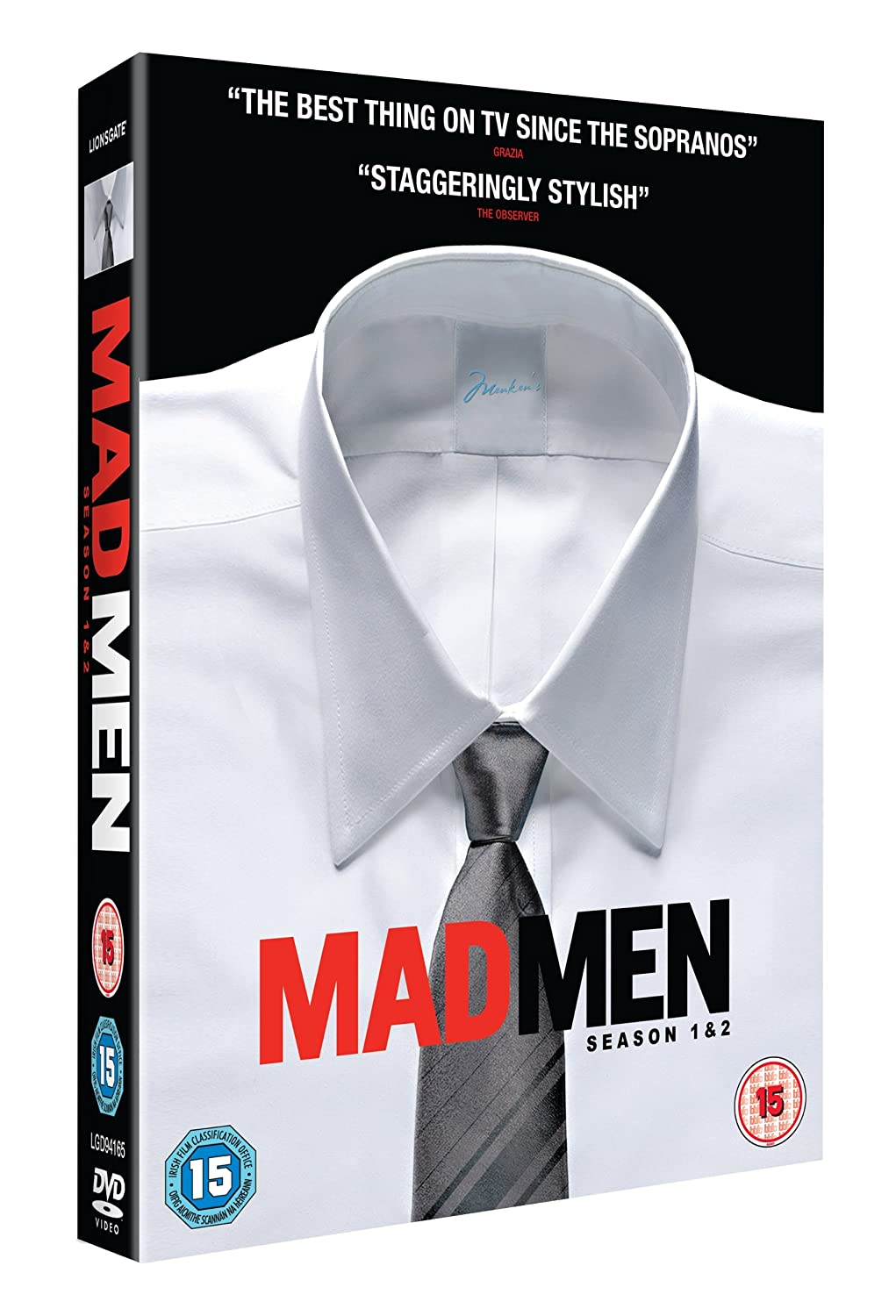 Mad Men - Season 1 and 2 [DVD]: Amazon.co.uk: Jon Hamm, Elisabeth ...