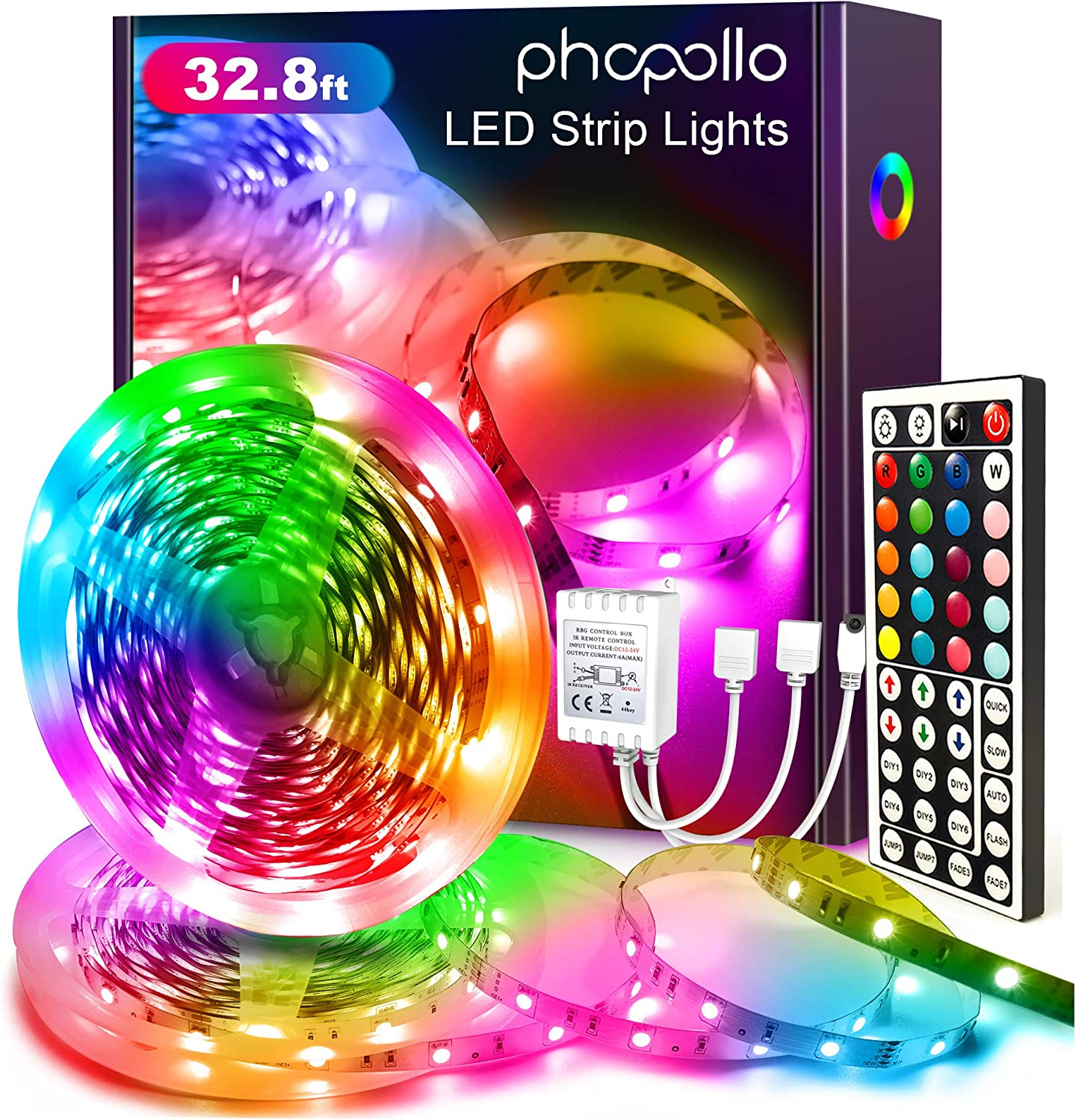 RuleaxA APEXEL APL-FL02 bomshot Multi-Functional Intelligent RGB LED Video Light Lamp Panel Support 7 Light Colors 3200K-5200K Dimmable Fill-in Light with 1//4 Inch Screw Hole AI Mode for Selfie