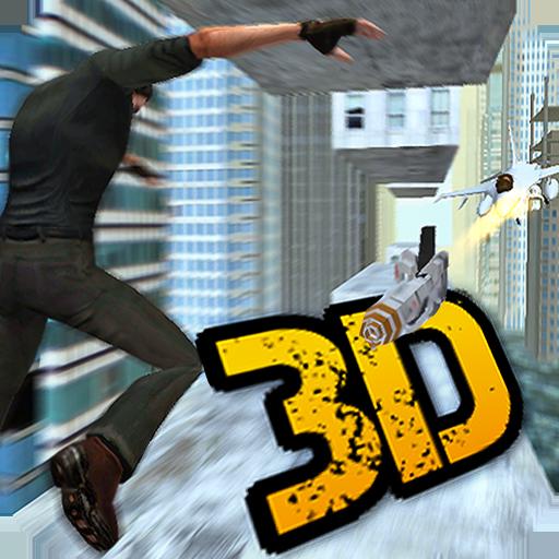 Jetpack Jump Roof Gangster (Free Batman Game)
