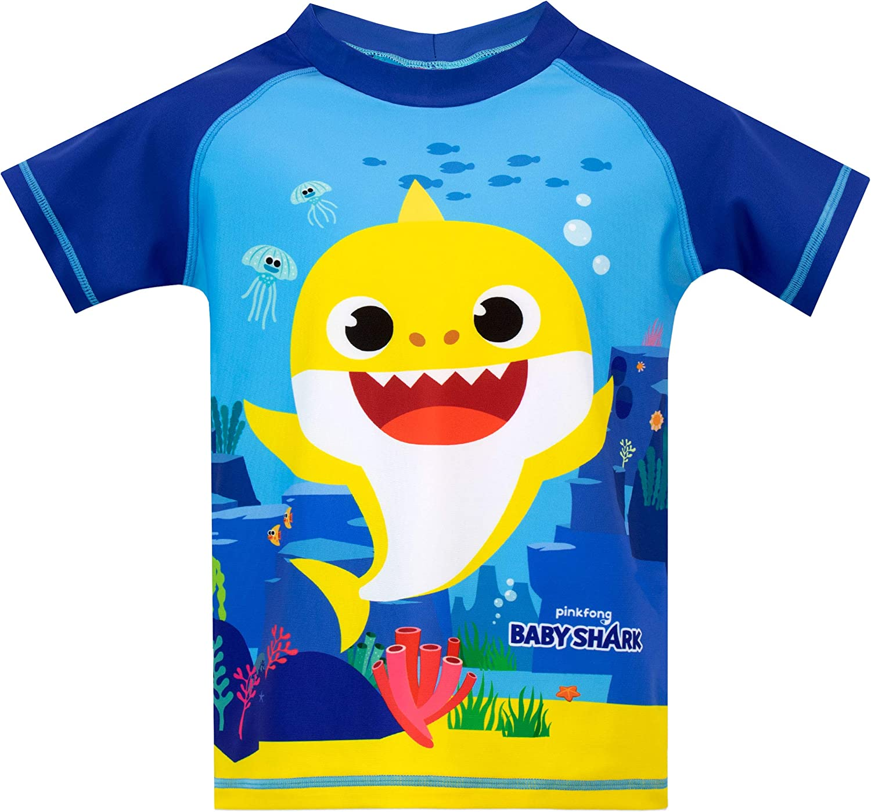 Pinkfong Boys Baby Shark Two Piece Swim Set