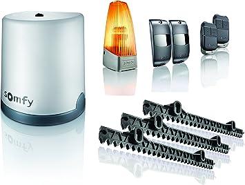 Somfy 2401410, Freevia 400, Motor para puerta corredera, con mando a distancia, 230 V: Amazon.es: Bricolaje y herramientas