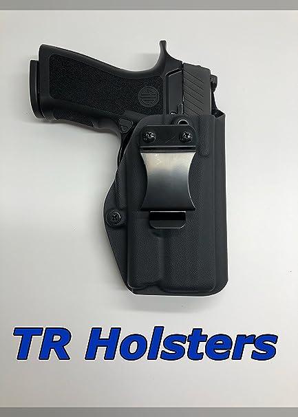Bulldog OWB Leather hip Gun Holster For Sig//Sauer P-938