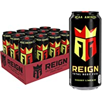 Reign Total Body Fuel Fitness & Performance Drink, Cherry Limeade, 16 Fl Ounce (Pack of 12)