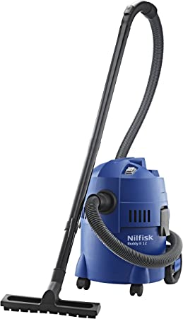Oferta amazon: NILFISK Aspirador de Bricolaje Buddy II 12, con o sin Bolsa, 1200 W, 12 litros, 74 Decibelios, Azul           [Clase de eficiencia energética B]