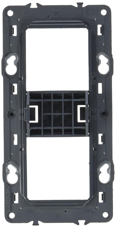 pour 2 postes Legrand LEG80252 Support pour fixation /à vis batibox 4//5 mod montage horiz//vert