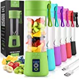 Zulay Portable Blender For Shakes And Smoothies - USB Rechargeable Portable Smoothie Blender Small For Travel - 13oz Capacity