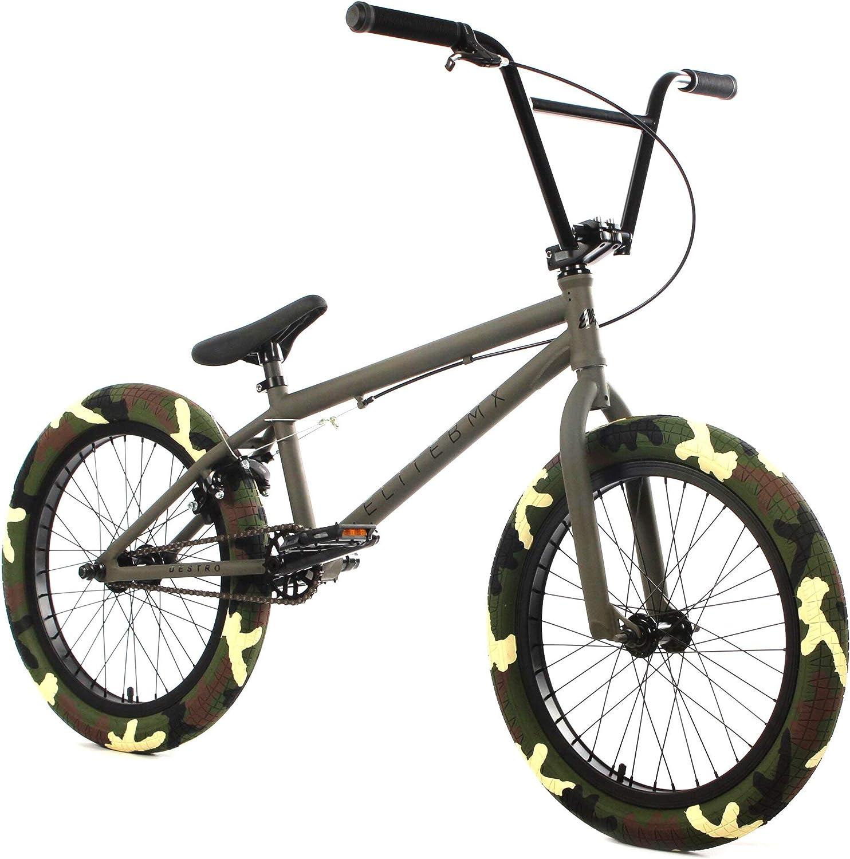 "Elite 20/"" DESTRO BMX Bike Black Charcoal"