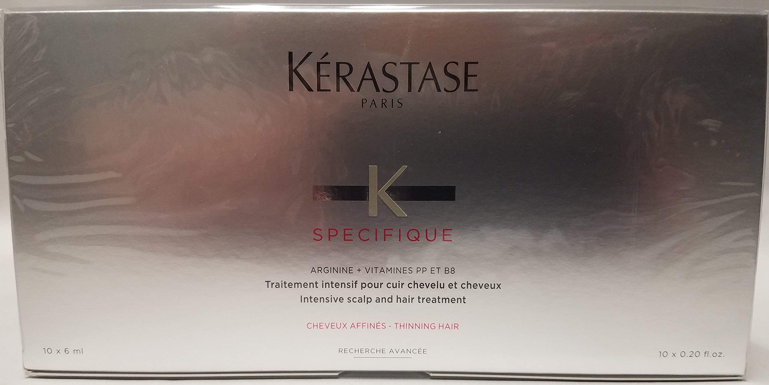 Kerastase Specifique Intensive Scalp Treatment (For Thinning Hair, Prone to Hair Loss) 10x6ml/0.2oz by KERASTASE