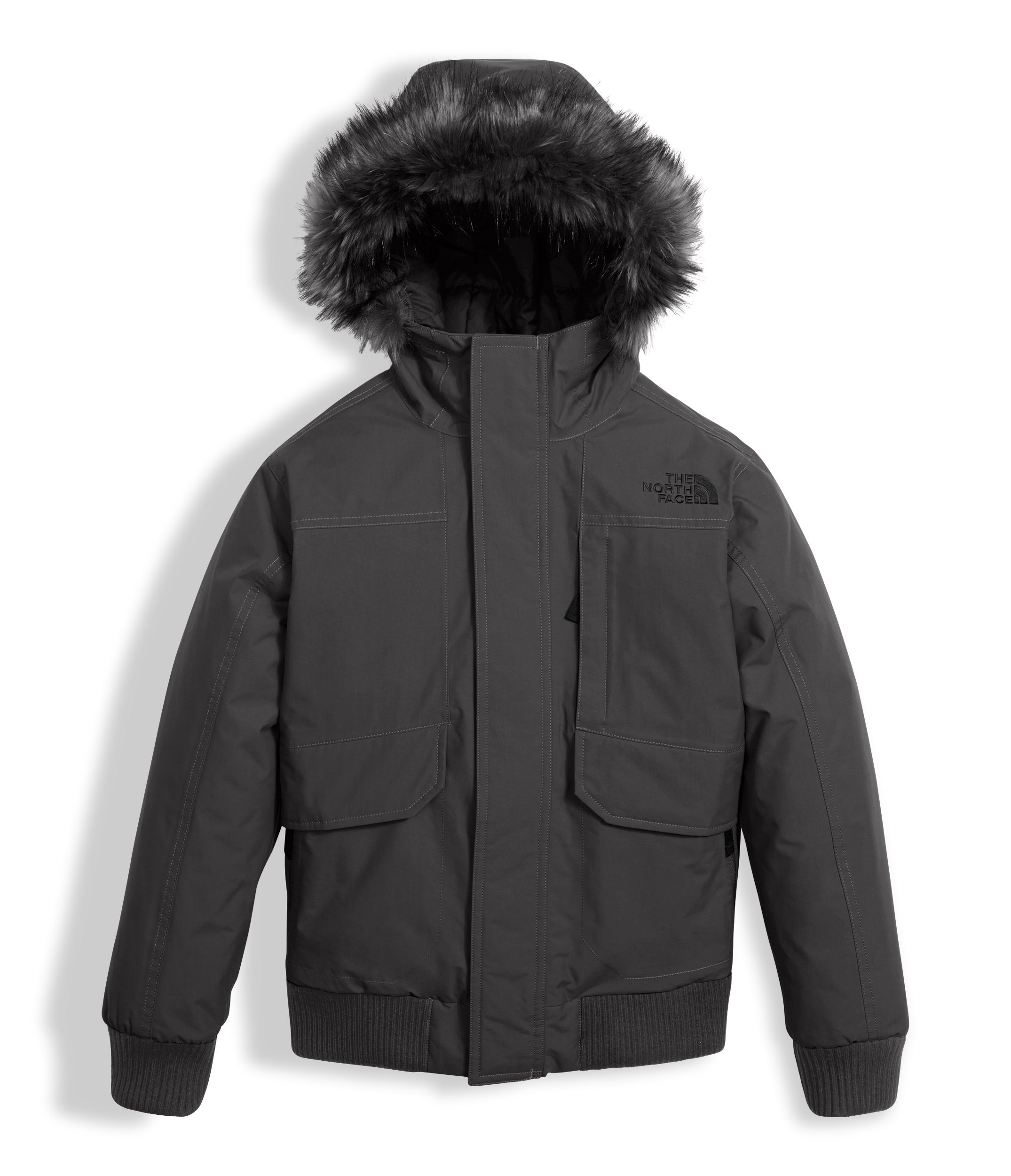 The North Face Boys Gotham Down Jacket Graphite Grey Heather (Large) by The North Face